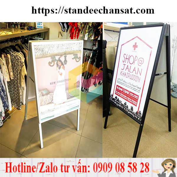 standee khung sat chu a gia re