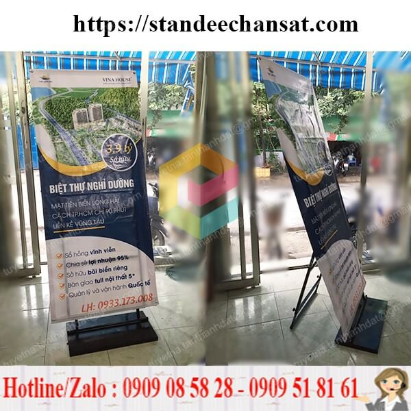 standee chan sat quang cao gia re hcm