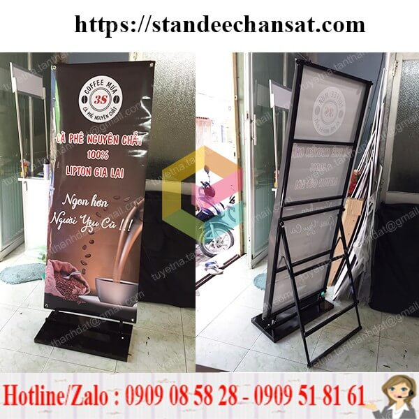 standee khung sat chong gio