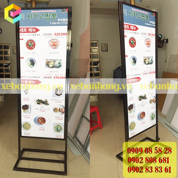 standee khung sat op formex