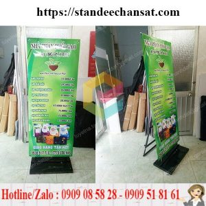 mua standee khung sat treo poster