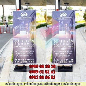 cung cap standee khung sat tang do gia re