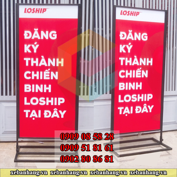 standee khung sat sot format gia re