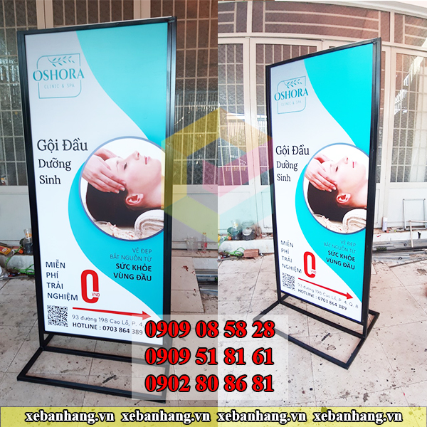 standee quang cao spa tphcm
