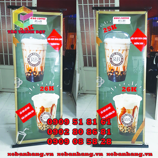 cung cap standee khung sat treo banner