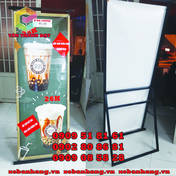 standee khung sat treo banner gia re