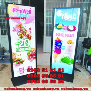 standee quang cao nha hang gia re tphcm