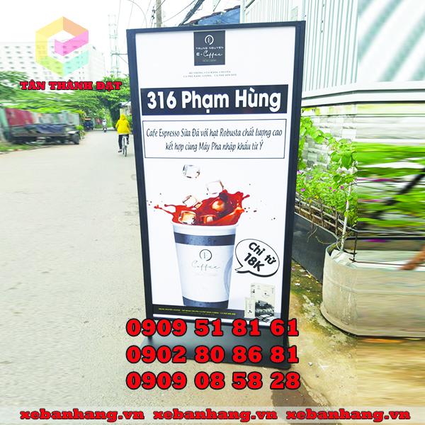 standee cafe chiu gio tphcm